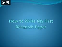 Where to publish research papers